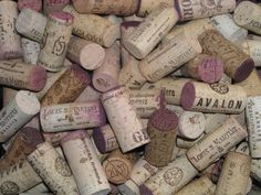 Used Wine Corks 150 For Craft Projects by JUNIPERRAVE on Etsy, $15.00