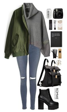 """Romwe 9"" by scarlett-morwenna ❤ liked on Polyvore featuring Topshop, NARS Cosmetics, Cowshed, romwe, alternative, followforfollow, f4f and promotion"