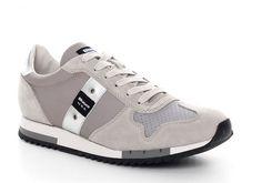 Sneaker Blauer uomo 7s runlow top grey suede spring summer 2017