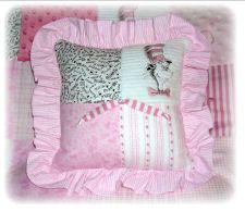 baby girl dr. seuss nursery bedding cat in the hat quilt