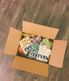 Special delivery! Cornzapoppin popcorn is a perfect gift or a great idea for care packages!
