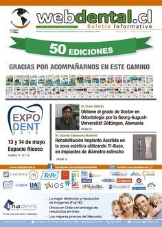 """Revisa """"webdental.cl Boletin Informativo N° 50""""... Todas las Ediciones en: webdental.cl/boletin"""