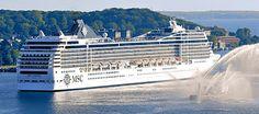 Die MSC Poesia finden Kreuzfahrer in Kiel am Ostseekai. Wer frühzeitig einen Parkplatz bei Port Parking bucht, sichert sich eine entspannte Anreise, kurze Wege und einen günstigen Stellplatz.