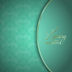 Elegant blue background with ornaments Free Vector