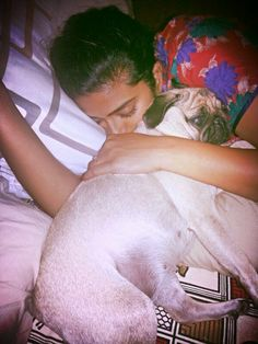 Cuddling and falling asleep with my pig is one of the best moments in life!!