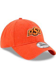 online retailer 745a1 90201 New Era Oklahoma State Cowboys Mens Orange Core Classic 9TWENTY Adjustable  Hat, Orange, 100% COTTON, Size ADJ