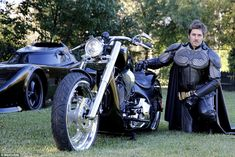 Mr Mihajlovic first built a bat chopper (motorbike) before he enlisted the help of his gra...