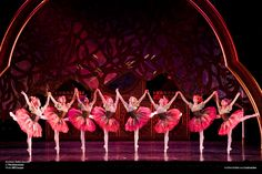 The Waltz of the Flowers in Act 2 of Northern Ballet's Nutcracker. Photo by Bill Cooper