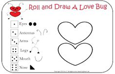 Be Different...Act Normal: Roll A Love Bug [Valentine Party Games]