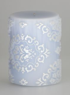 Parable Luxury Candle - Penzance Pearl on Moonstone - handcrafted candle in relief - http://www.parabledesigns.co.uk
