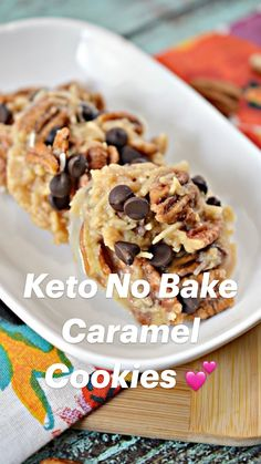 Keto Snacks, Snack Recipes, Dessert Recipes, Breakfast Recipes, Breakfast Casserole, Cheerios Recipes, Keto Desert Recipes, Oatmeal Recipes, Keto Foods