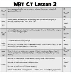 Simply 2nd Resources: WBT Lesson Plans