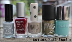 Autumn 2014 Nail Polish Picks