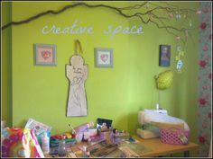 OOOoo a creative space, yay!