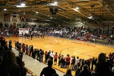 Indiana's version of Friday Night Lights: High School Basketball, Orleans High School Gymnasium<3  Follow: http://www.pinterest.com/mariahhammond