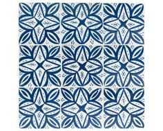 Blue-and-White Geometric: Crafted from an inventive array of materials, today's mosaics reflect myriad influences.
