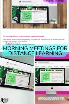 Are you a teacher who is looking for virtual morning meeting greetings as you teach in-person, virtually or hybrid? Do you need to settle your students at the start of the day with morning messages? A consistent and fun morning routine in your classroom? Questions encourage your students to have meaningful conversations or writing prompts? An effective morning check in to connect with your students and attend to their social emotional needs? Check out Daily Morning Meetings! Morning Meeting Activities, Morning Meetings, Time Activities, Morning Meeting Greetings, Philosophical Thoughts, Responsive Classroom, Meaningful Conversations, Meet The Teacher, Blended Learning