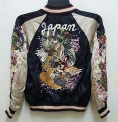 Reversible Sukajan Jacket Rayon Vintage Rare by NIPdeCASTRO
