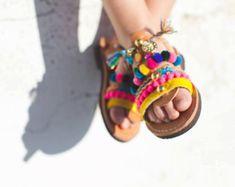 little girl lace up / tie up gladietor sandals / aelia greek