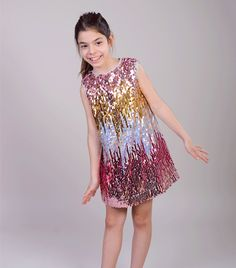 Rochie Shine like a star Girls Dresses, Formal Dresses, Sequin Skirt, Sequins, Stars, Fashion, Dresses Of Girls, Dresses For Formal, Moda