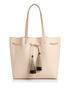 Loeffler Randall Calf Hair Tassel Drawstring Tote In White Loeffler Randall, Tote Handbags, Tote Bags, Large Bags, Handbag Accessories, Michael Kors Jet Set, Purses And Bags, Tassels, Unisex