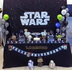 Star Wars Birthday, 8th Birthday, Party Bags, I Party, Decoracion Star Wars, Star Wars Party Decorations, Tema Star Wars, Aniversario Star Wars, Up Balloons