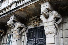 hadrian6: Atlas Telamons. Warsaw. http://hadrian6.tumblr.com