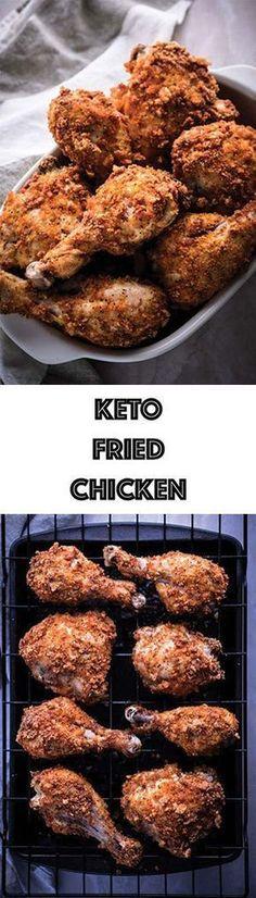 Low Carb Keto Fried Chicken Recipe - Gluten Free, Dairy Free
