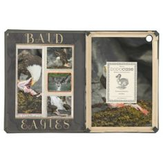 Black Stone Bay Eagles iPad Air DODOcase