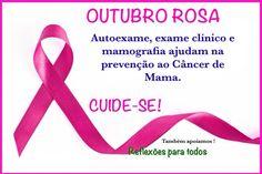 """Participe da campanha """"Outubro Rosa"""" (todos contra o câncer de mama),  comentando, compartilhando e/ou curtindo. Como fazer o auto exame: clique na imagem. #OutubroRosa #setoque #TodosContraoCancer"""