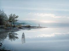 Photoshopfantomen Erik Johansson ställer ut omöjliga bilder på Fotografiska - DN.SE