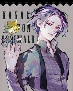 Kanae von Rosewald     Tokyo Ghoul: Re Fan Art