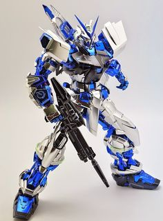 GUNDAM GUY: PG 1/60 Gundam Astray Blue Frame - Painted Build