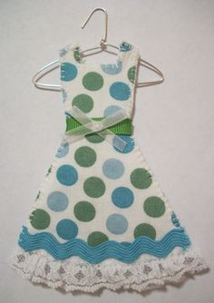 The Polka Dot Party Dress Miniature Dress by agapeboutique on Etsy, $9.95