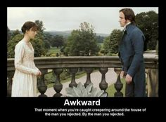 Tagged with funny, jane austen, pride and prejudice; Apparently Pride and Prejudice memes exist! Jane Austen, Mr Darcy, Awkward Moments, Matthew Macfadyen, I Love To Laugh, Humor, Rick Riordan, Just For Laughs, Movies Showing