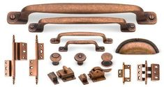 New Kitchen Cabinets Hardware Copper 34 Ideas Kitchen Drawer Handles, Cabinet Door Handles, Kitchen Cabinet Hardware, Cabinet Decor, Update Kitchen Cabinets, Diy Cupboards, Kitchen Table Makeover, Kitchen Ideas, Kitchen Makeovers