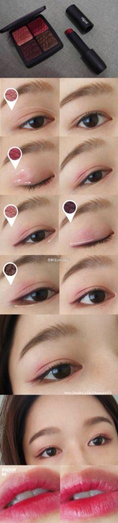 Lovely eye make up #make up #idea