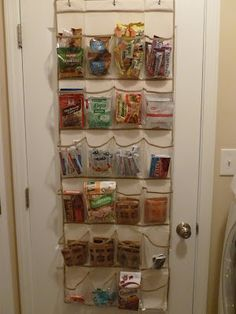 One of my solutions to a small pantry and crafts in a playroom