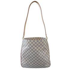 ae1e8f548734 Louis Vuitton Soffi Damier Azur Handbag Hobo Tote