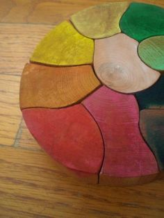 Rainbow Wooden Puzzle | Flickr - Photo Sharing