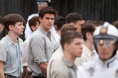 Liam Hemsworth as Gale Hawthorne in The Hunger Games. Gale Hunger Games, Hunger Games Characters, Hunger Games Movies, Hunger Games Trilogy, Gale Hawthorne, Bubble Shooter Games, Game Development Company, Katniss Everdeen, Liam Hemsworth