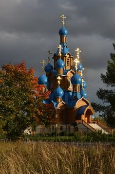 Pskovo-Pechersky Monastery, Pechory, Russia - Pin This Cathedral Architecture, Russian Architecture, Sacred Architecture, Beautiful Architecture, Beautiful Castles, Beautiful Buildings, Beautiful Places, Church Pictures, Russian Orthodox