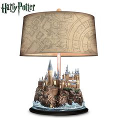 126742001 - HARRY POTTER Table Lamp With Illuminated HOGWARTS…