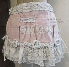 Pink lace tool belt