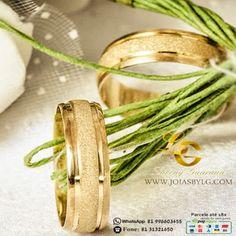 Joias by LG - Luceny Guaraná  Alianças de casamento de ouro 18k Alianças  Lindas, 3c1ae12afc