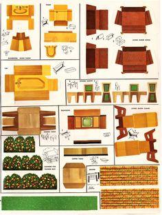 915 best printable miniatures toys furniture bird houses