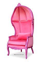 Fabulous & Baroque's Victoire Balloon Chair - Fuchsia