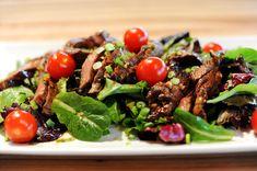 Pioneer Woman's ginger steak salad. This was AMAZING. Definitely on my favorites list.