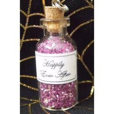 Happily Ever After - Potion - Shrek - with pop rocks as party favors