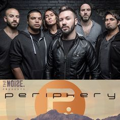 NEW TOUR – Progressive tech-metal band, Periphery, is heading out on their Sonic Unrest Tour! Don't miss out on your chance to catch them live. Check dates and ticket info here: http://hoblu.es/PeripheryTour